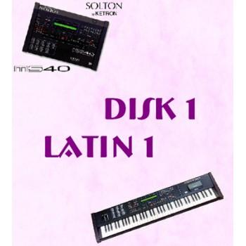 Latin Vol 1 - Solton Pattern Disk 1