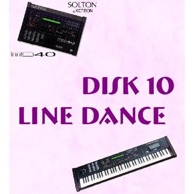 Line Dance - Solton Pattern Disk 10