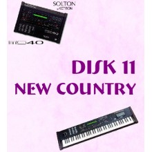 New Country - Solton Pattern Disk 11