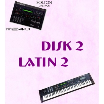 Latin Vol 2 - Solton Pattern Disk 2