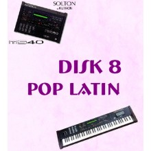 Pop Latin - Solton Pattern Disk 8