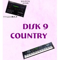 Country - Solton Pattern Disk 9