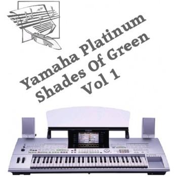 Shades Of Green - Yamaha Platinum Style Disk 18