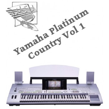 Country Volume 1 - Yamaha Platinum Style Disk 3