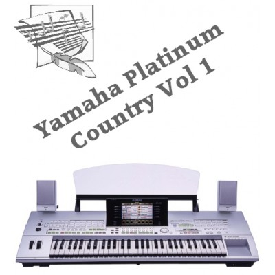 Country Volume 1 - Yamaha Platinum Style Disk 3