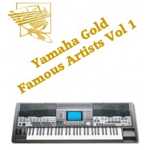 Famous Artists Volume 1 - Yamaha Gold Style Disk 1