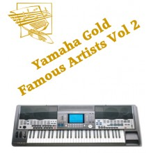 Famous Artists Volume 2 - Yamaha Gold Style Disk 9